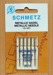 Schmetz Metallic Household Sewing Machine Needles