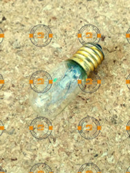 Sewing machine screw in light bulb - clear E14 18x57