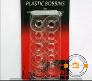 Plastic bobbins to fit Janome sewing machines