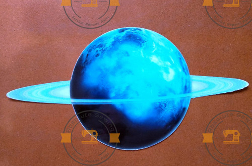 Glow in the dark Uranus wall sticker