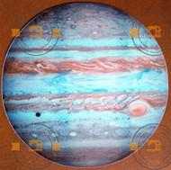 Glow in the dark Jupiter wall sticker