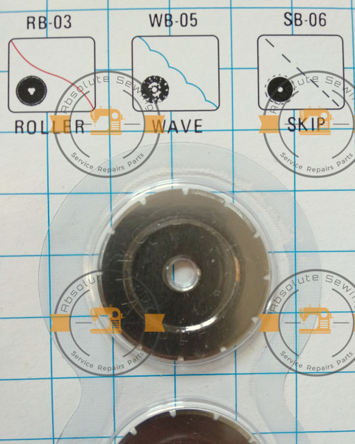 Rotary Skip Blades - 28mm