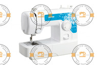 Brother Home sewing machine - JA1450NT