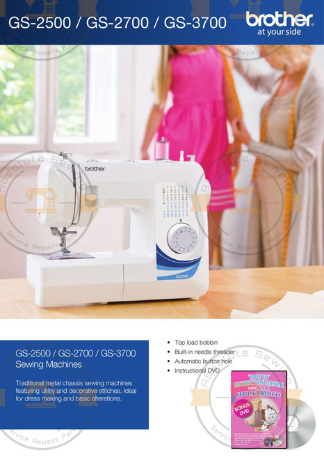 Brother GS2700 Home sewing machine Brochure