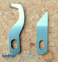 2 Brother 3034D lower and upper blade set