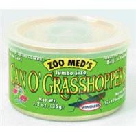 Zoo Med Can O Grasshoppers 1.2oz