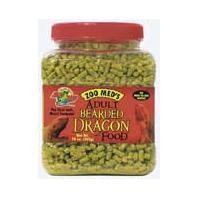 Zoo Med Natural Adult Bearded Dragon Food 10oz