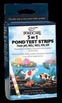 API 5-in-1 Aquarium Test Strips 25ct