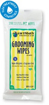 earthbath Grooming Wipes Hypo Allergenic 28ct