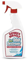 Natures Miracle 3IN1 Odor Destroyer Fresh Linen Scent Trigger Spray 24oz