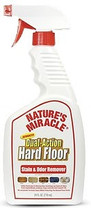 Natures Miracle Hard Floor Stain & Odor Remover Trigger Spray 24oz