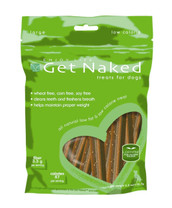 Enjoy Life Get Naked Low Calorie Dental Chew Sticks for Dogs Small 6.2oz