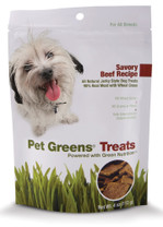 Bell Rock Growers Pet Greens Jerky Dog Treat Beef 4oz