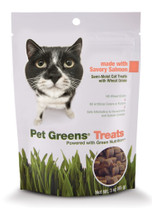 Bell Rock Growers Pet Greens Semi Moist Cat Treat Salmon 3oz