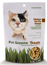 Bell Rock Growers Pet Greens Crunchy Cat Treat Chicken 3oz