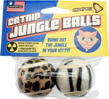Petsport Catnip Jungle Balls 2pk