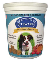 Pro-Treat Blends Freeze Dried Dog Treats by Stewart in Resealable Tub, 4-Ounce, Beef