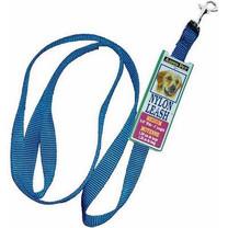 """Aspen Pet 15008 Nylon Pet Leash, 5/8""""x4', Blue"""
