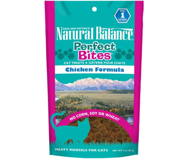 Natural Balance Perfect Bites Cat Treats Chicken Formula