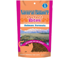 Natural Balance Perfect Bites Cat Treats Salmon Formula