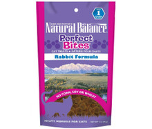 Natural Balance Perfect Bites Cat Treats Rabbit Formula