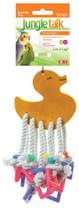 JungleTalk Lots of Legs Asst. Duck Bear Small Medium 14.25in