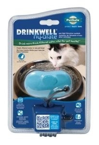 Drinkwell Hy-Drate H2O Filtrtn System Cat Healthy Pet Blue