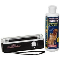 Stink Free Stink Finder Ultra Violet Light and Flashlight Combo
