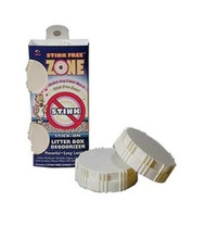 Stink Free Litter Box Stick-On Deodorizer 2pc