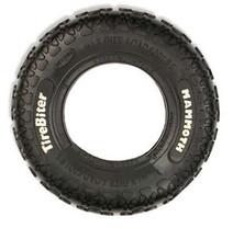 TireBiters Medium Chew Toy Extra Strength, Black, 8-Inch