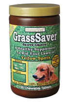 NaturVet GrassSaver Chewable Wafers 100ct