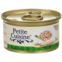 Petite Cuisine Steamed Tuna and Sole Entree Canned Cat Food 3oz