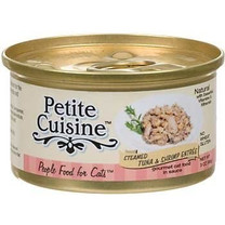 Petite Cuisine Steamed Tuna and Shrimp Entree Canned Cat Food 3oz