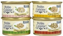Petite Cuisine Seafood Variety Canned Cat Food 4ea 3oz