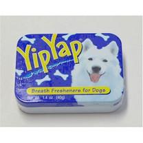 Yip Yap Dog Breath Treat Tin 1.4oz