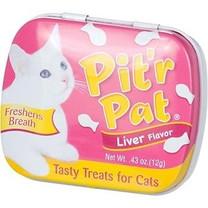 Pitr Pat Cat Breath Treat Tin Liver .43oz