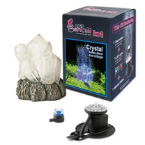 Hydor H2shOw Crystal Kit with Bubble Maker and Blue LED Spot Light