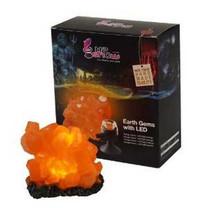 Hydor H2Show Earth Gems with LED for Aquarium, Orange Citrine