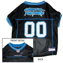 Carolina Panthers NFL Dog Jersey - Extra Small