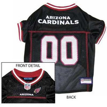 Arizona Cardinals NFL Dog Jersey - Extra Small