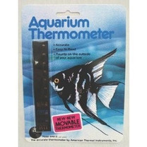 American Thermal Liquid Crystal Aquarium Thermometer Vertical Medium
