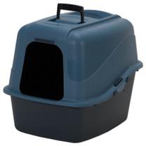 Petmate Hooded Litter Pan Set With Microban Assorted Jumbo