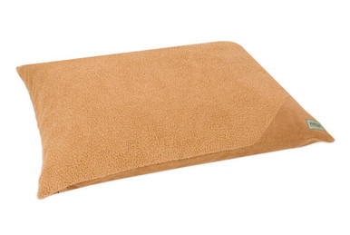 Aspen Pet Cedar Sleeper Pillow Bed Assorted Plush Suede 36inX45in