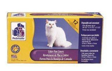 Petmate Litter Pan Liners Large 12ct