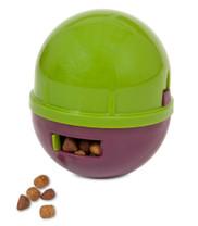 Booda Wobbling Treatball Green Purple