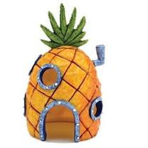 Penn-Plax Sponge Pineapple House Ornament
