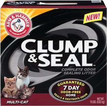 Arm & Hammer Multi-Cat Clump & Seal Clumping Litter, 19-Pound