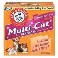 Arm & Hammer Multi Cat Strength Clumping Litter 20lb