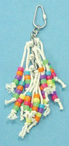 Bird Brainers String Toy w  Beads 7.5in