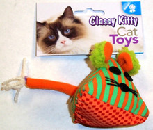 North American Pet Classy Kitty Triangle Mouse